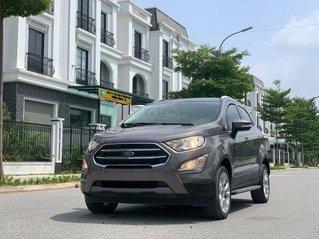 Ford EcoSport sản xuất 2019, màu ghi xám, chạy chuẩn 18.000 km