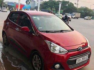 Cần bán Hyundai Grand i10 sản xuất 2015, màu đỏ, nhập khẩu, số tự động