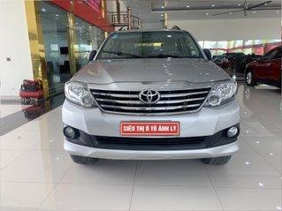 Bán Toyota Fortuner 2.7AT 2012, màu bạc