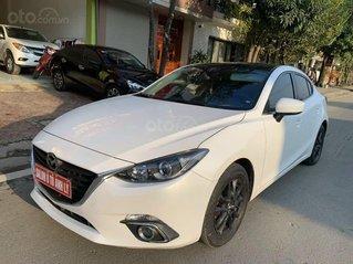 Bán xe Mazda 3 sản xuất năm 2016 xe đẹp, màu trắng