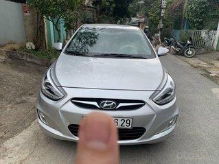Bán xe Hyundai Accent sản xuất 2014, màu bạc