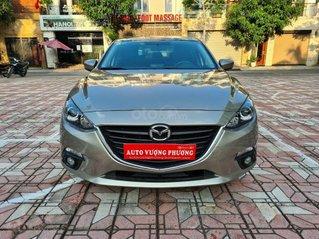 Cần bán xe Mazda 3 sản xuất 2016, màu vàng cát