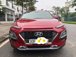 Hyundai Kona 1.6 Turbo sản xuất năm 2019, màu đỏ còn mới nguyên
