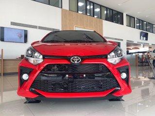 Toyota Wigo 1.2G màu đỏ số tự động giao ngay - khuyến mãi tốt
