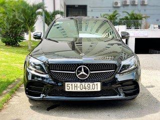 Bán Mercedes Benz C300AMG ĐK 02/2019, sản xuất cuối 2018, chạy 6.000km, xe như xe mới, còn bảo hành hãng