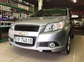 Cần bán xe Chevrolet Aveo sản xuất năm 2016, màu bạc số sàn