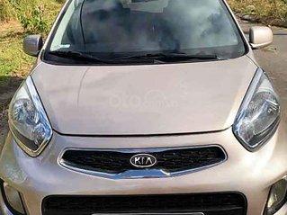 Bán ô tô Kia Morning đời 2013, màu ghi vàng