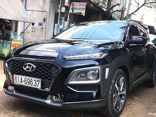 Cần bán lại xe Hyundai Kona 1.6 Turbo 2019, màu đen