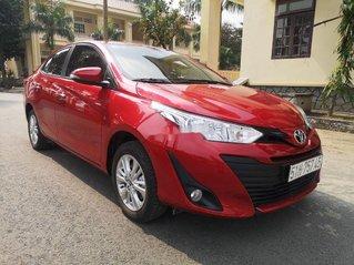 Bán ô tô Toyota Vios 1.5E CVT đời 2020, màu đỏ số tự động