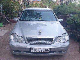Bán Mercedes C class sản xuất 2003, màu bạc chính chủ, 200tr