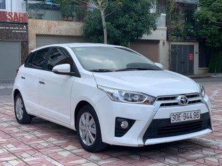 Cần bán xe Toyota Yaris bản G đăng ký 2015 màu trắng
