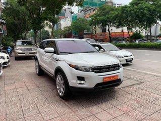 Bán xe Range Rover Evoque Dynamic sản xuất 2012, đăng ký 2014, màu trắng nội thất nâu