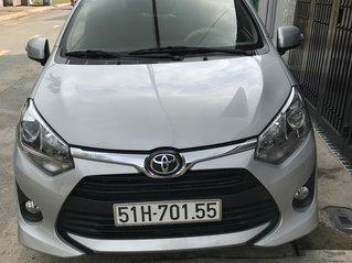 Cần bán xe Wigo AT 2019, màu bạc, gia đình sử dụng