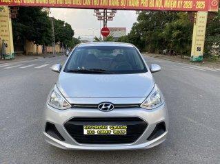 Hyundai Grand i10 1.2 Sport 2015, màu bạc, nhập khẩu, chính chủ cán bộ huyện Sóc Sơn, quá chất lượng