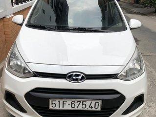 Bán Hyundai I10 MT 2015 đklđ 6/2016 màu trắng lăn bánh 57.000km