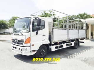 Xe tải HINO FC9JLTC - HINO FC 6.5 tấn thùng bạt 5m7, 6m7, 7m2 - góp 180tr nhận xe - xe sẵn - giao ngay