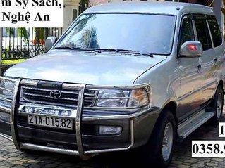 Bán Toyota Zace năm sản xuất 2000, màu bạc còn mới, 130 triệu