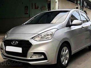 Bán ô tô Hyundai Grand i10 sản xuất 2017, màu bạc còn mới