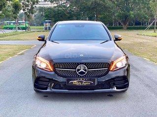 Cần bán xe Mercedes Benz C300 AMG SX 2019, màu đen, nội thất nâu