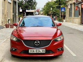 Mazda 6 2.0L AT sản xuất 2015 màu đỏ xe đẹp nguyên bản