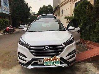 Cần bán Hyundai Tucson sản xuất 2019, màu trắng còn mới, 813 triệu