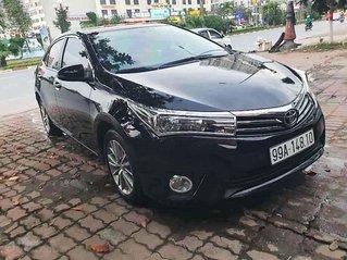 Cần bán xe Toyota Corolla Altis sản xuất năm 2016, màu đen còn mới, giá 595tr