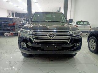 Bán Toyota Land Cruiser 4.6 nhâp chính hãng 2021, màu đen, nội thất nâu, xe sẵn giao ngay