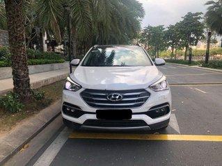 Cần bán gấp Hyundai Santa Fe 2016, màu trắng chính chủ, giá 850tr