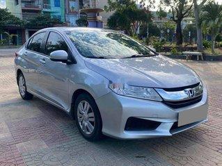 Cần bán lại xe Honda City sản xuất 2017, màu bạc còn mới, giá chỉ 372 triệu