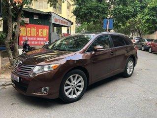 Cần bán xe Toyota Venza sản xuất 2009, màu nâu, xe nhập, giá tốt