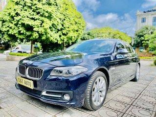 Bán xe BMW 5 Series 520i đời 2016, màu xanh lam, xe nhập