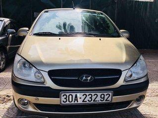 Bán Hyundai Getz 2009, màu vàng, giá tốt