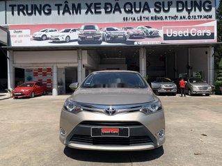 Bán Toyota Vios 1.5G đời 2014 chính chủ, 450 triệu