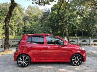 Xe Kia Morning 2011, màu đỏ còn mới