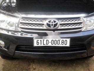 Cần bán gấp Toyota Fortuner sản xuất năm 2011, màu đen chính chủ, giá chỉ 400 triệu