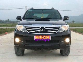 Cần bán gấp Toyota Fortuner đời 2015, màu đen còn mới