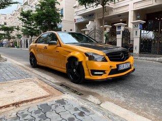 Bán Mercedes C300 sản xuất 2012, màu vàng còn mới