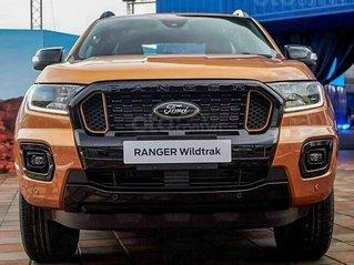 Ford Ranger Wildtrak 2.0L AT 4WD model 2021 mới nhất, giảm đến 80 triệu, xe đủ màu giao ngay