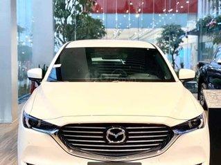 Mazda CX8 2020, màu trắng, giá xe giảm sốc chưa từng có