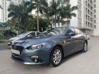 Bán Mazda 3 1.5 AT sản xuất năm 2015 màu xanh lam nguyên zin, giá tốt