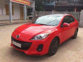 Bán Mazda 3 năm sản xuất 2013, màu đỏ, xe còn mới