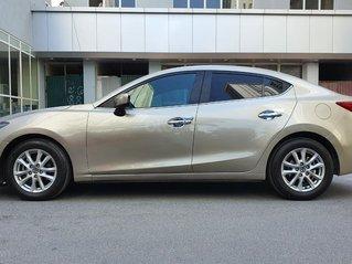 Bán Mazda 3 sản xuất năm 2016 màu vàng cát nguyên bản, xe đẹp, giá tốt