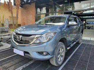 Bán Mazda BT 50 bản MT 2 cầu, sản xuất năm 2018 màu xanh lam siêu đẹp giá tốt