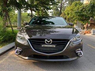 Cần bán xe Mazda 3 1.5AT SX 2017 màu nâu cafe
