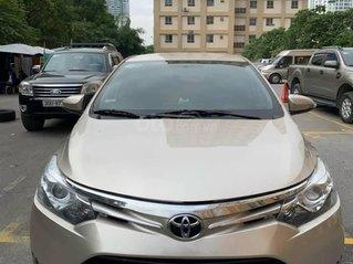 Bán Toyota Vios G sản xuất 2015, màu vàng cát