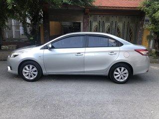 Gia Hưng Auto bán xe Toyota Vios 1.3J SX 2014 màu bạc xịn nguyên bản, xe sử dụng gia đình không kinh doanh dịch vụ