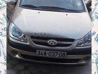 Cần bán lại xe Hyundai Getz 1.6 AT năm sản xuất 2007màu vàng cát, nhập khẩu nguyên chiếc