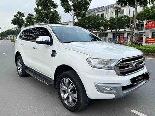 Bán Ford Everest Titanium năm 2017, màu trắng, nhập khẩu
