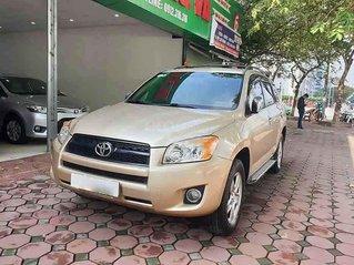 Bán Toyota RAV4 2.5AT sản xuất năm 2011, màu vàng, xe nhập, 540 triệu