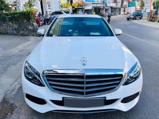 Mercedes C250 Exclusive màu trắng SX 2016, ĐK 2017. Một chủ từ mới